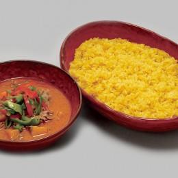 中皿料理 牛肉とかぼちゃのレッドカリー 2,800円(税込3,024円)