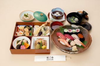 寿司会席膳「潮」4,500円(税別)
