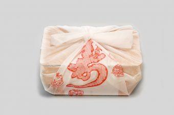 和紙風の風呂敷