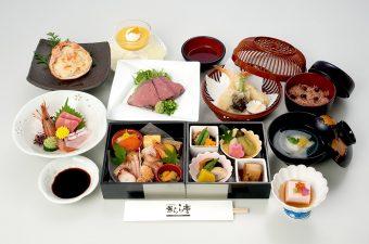 お祝い会席膳「錦扇」 6,000円(税別)