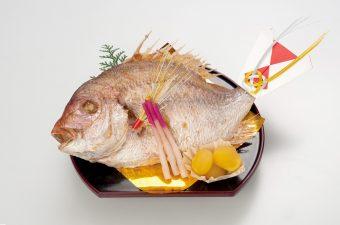 「真鯛の姿焼き」 3,800円(税別)
