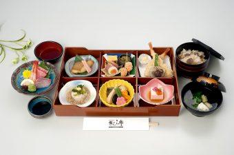会席膳「有明」4,000円(税別)