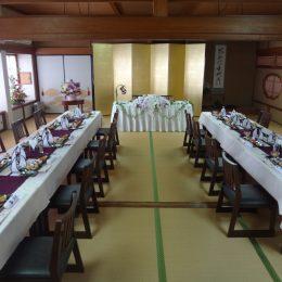 30名様 御座敷結婚式
